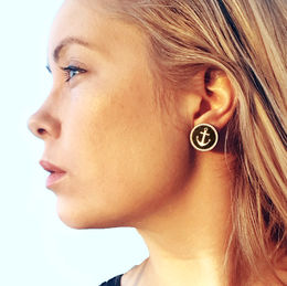 Anchored -earrings