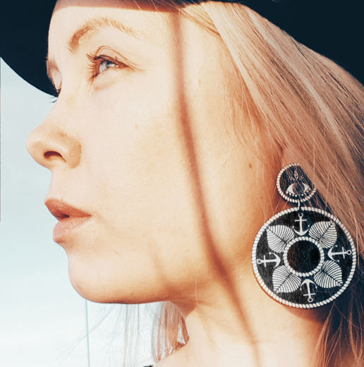 Saimaa Mandala - earrings