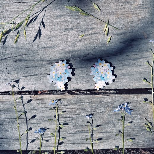 Blue Dream -earrings