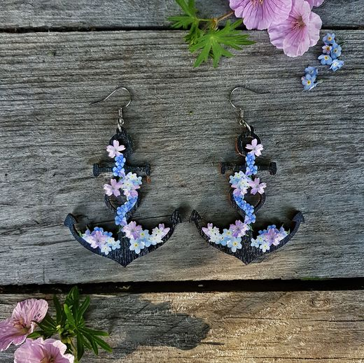 Anchored Dreams -earrings