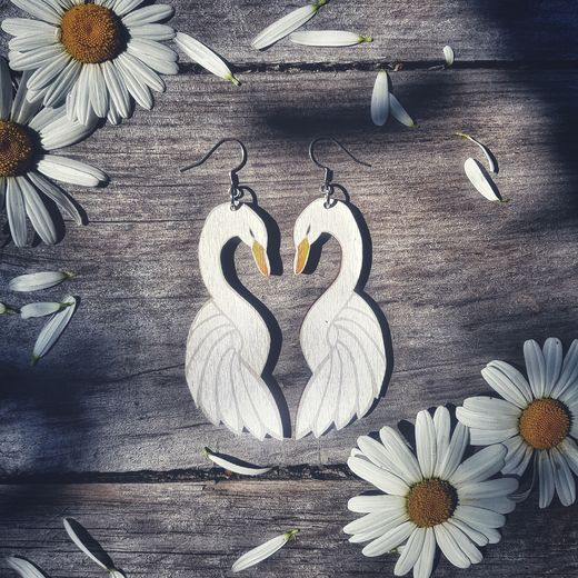 Love Birds - earrings