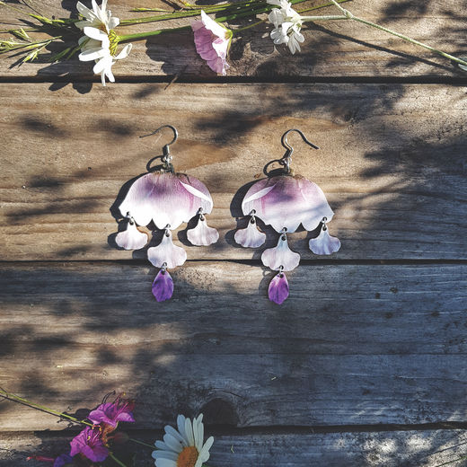 Floral Drops - earrings
