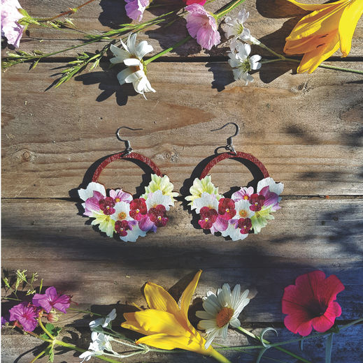 Flower Power -earrings